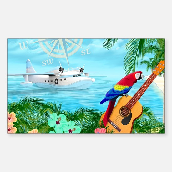 Tropical Travels Decal