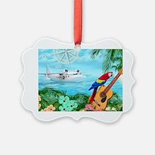 Tropical Travels Ornament