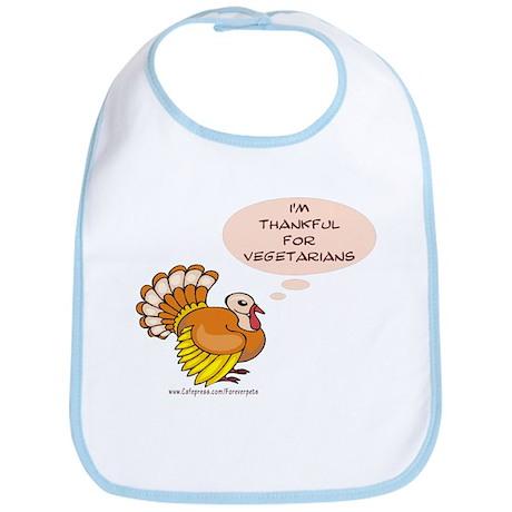 Vegetarian Thanksgiving Bib