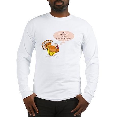 Vegetarian Thanksgiving Long Sleeve T-Shirt