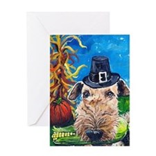 Unique Dog breed art Greeting Card