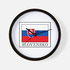Slovensko Wall Clock