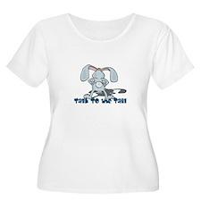 Talk to the Tail Bunny Rabbit T-Shirt