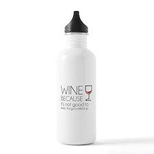 Wine Bottled Up Water Bottle