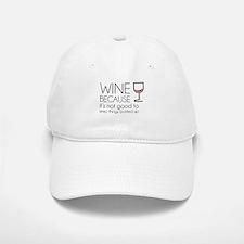 Wine Bottled Up Baseball Baseball Cap