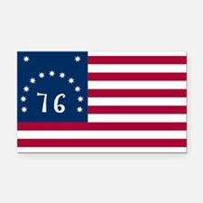 Bennington Flag Rectangle Car Magnet