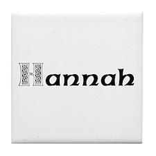 Hannah Tile Coaster