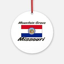 Mountain Grove Missouri Ornament (Round)