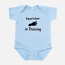 Squatcher in Training Body Suit