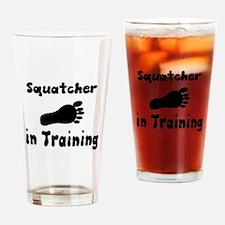 Squatcher in Training Drinking Glass