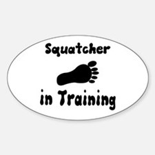 Squatcher in Training Decal