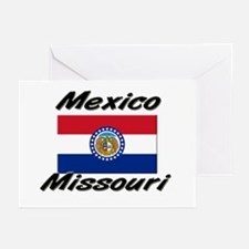 Mexico Missouri Greeting Cards (Pk of 10)