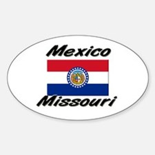Mexico Missouri Oval Decal
