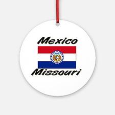 Mexico Missouri Ornament (Round)