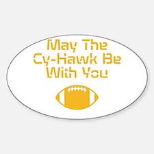 Cy-Hawk Iowa Decal