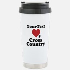 Customize Loves Cross Country Travel Mug
