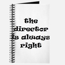 director always right Journal