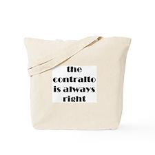 contralto right Tote Bag