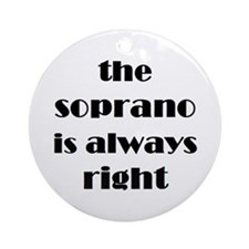 soprano right Ornament (Round)