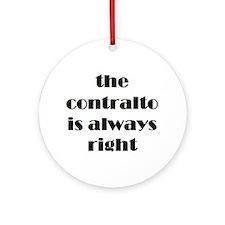 contralto right Ornament (Round)