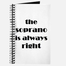 soprano right Journal