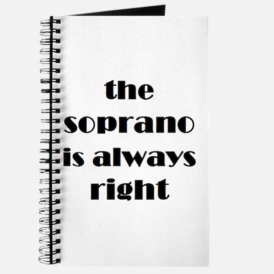 soprano right Journal