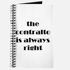 contralto right Journal