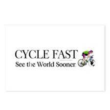 TOP Cycle Fast Postcards (Package of 8)