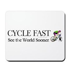 TOP Cycle Fast Mousepad