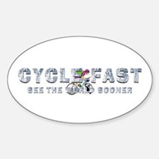 TOP Cycle Fast Decal