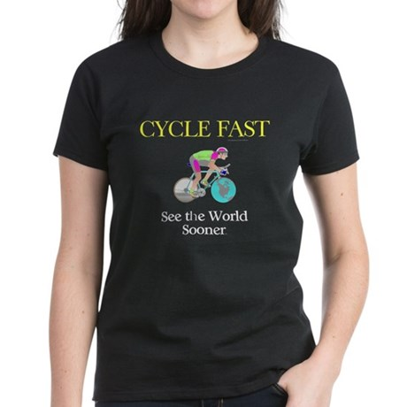 TOP Cycle Fast Women's Dark T-Shirt