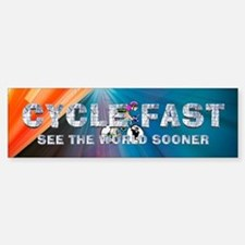 TOP Cycle Fast Bumper Bumper Sticker