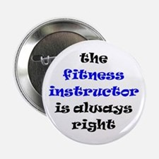 "fitness instructor right 2.25"" Button"