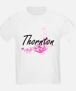 Thornton surname artistic design with Flow T-Shirt