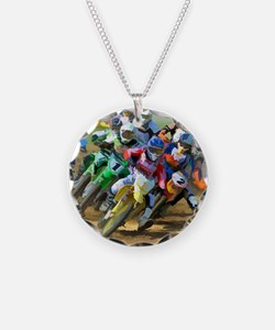 Motocross Necklace