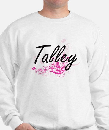 Talley surname artistic design with Flo Sweatshirt