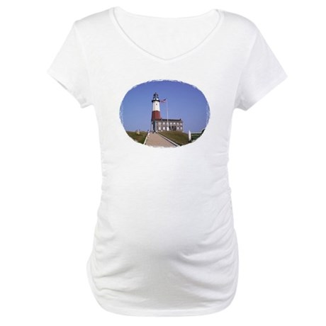 Lighthouse Maternity T-Shirt
