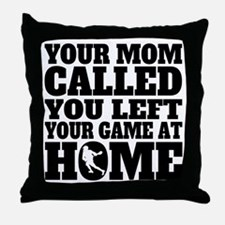 You Left Your Game At Home Lacrosse Throw Pillow