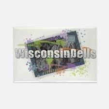 Funny Wisconsin madison Rectangle Magnet