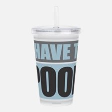 Cool Fart Acrylic Double-wall Tumbler