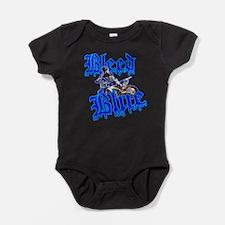 Bleed Blue 2 Baby Bodysuit