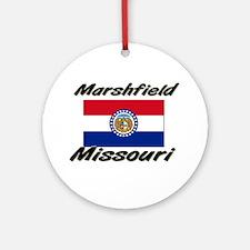 Marshfield Missouri Ornament (Round)