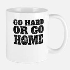 Go Hard Or Go Home Rowing Mugs