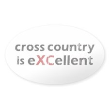 Cross Country eXCellent Sticker