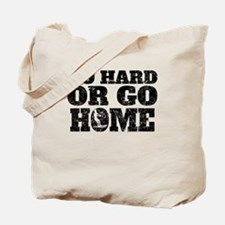Go Hard Or Go Home Waterskiing Tote Bag
