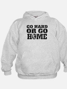 Go Hard Or Go Home Waterskiing Hoodie