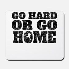 Go Hard Or Go Home Hurdles Mousepad