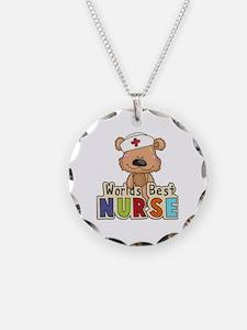The World's Best Nurse Necklace