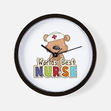 The World's Best Nurse Wall Clock