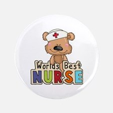 The World's Best Nurse Button